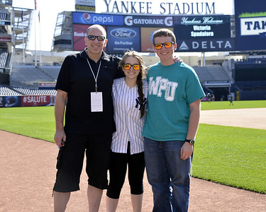 Yankees Stadium  - Take The Field Event 061514