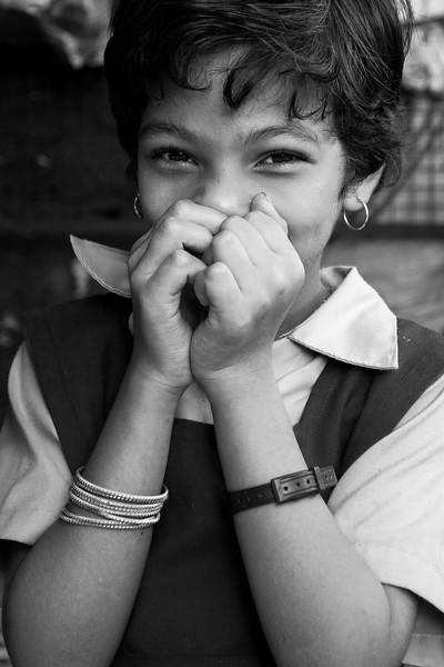 Schoolgirl, India