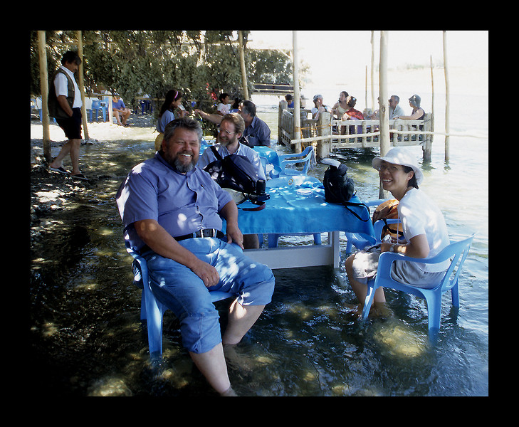 Jim at the Tigris River, Eastern Turkey near Syria - 2003.jpg