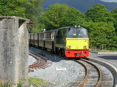 Welsh Highland Railway 2009 - 2010