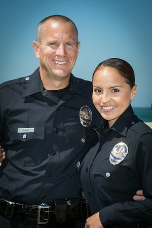 Detective Doug Pierce and Officer Alexis Pierce