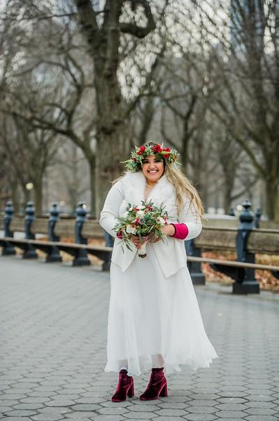 Justin & Tiffani - Central Park Wedding