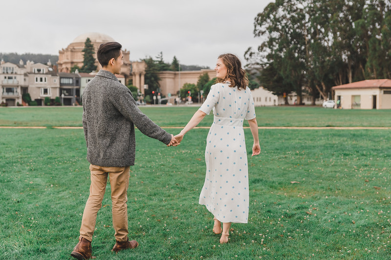 SF Sweethearts City Engagement Session | San Francisco, CA