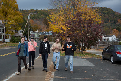 Hanging out in Shelburne Falls October 22,2015