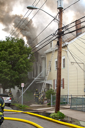 Paterson NJ 4th alarm, 307 McBride Ave. 05-31-15