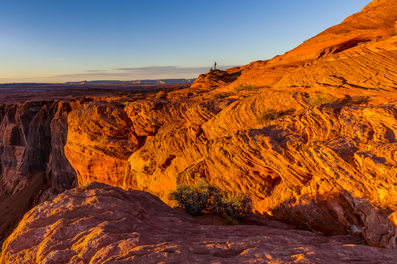 Sunset at the Glen Canyon