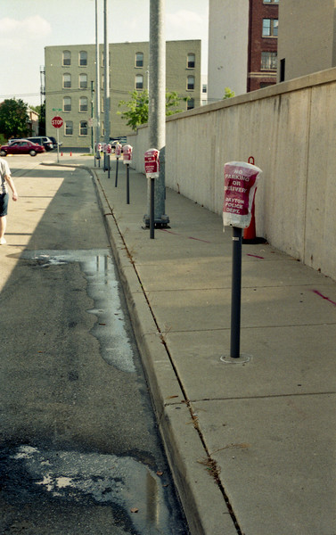 No parking today in this part of Dayton  Retina IIIc