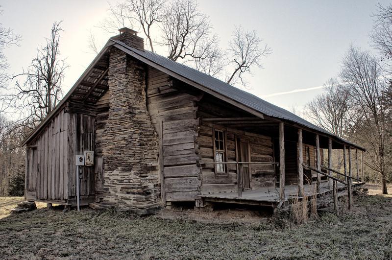 Reeves-Melson Dogtrot, Bonnerdale, AR