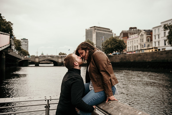 Nick and Hannah's Dublin engagement