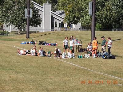 Warriors Girls Socccer vs Bethany 9-10-12