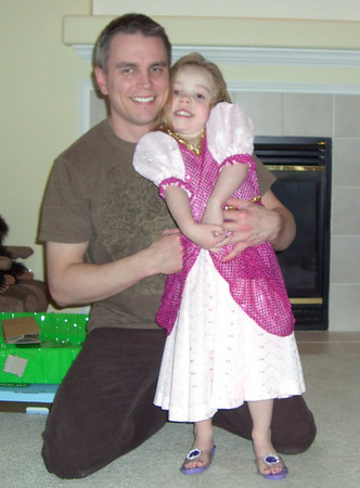 2008.01 - Kimber's 4th Birthday