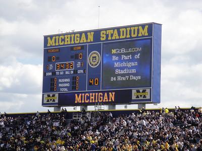 Michigan Stadium Re-Dedication