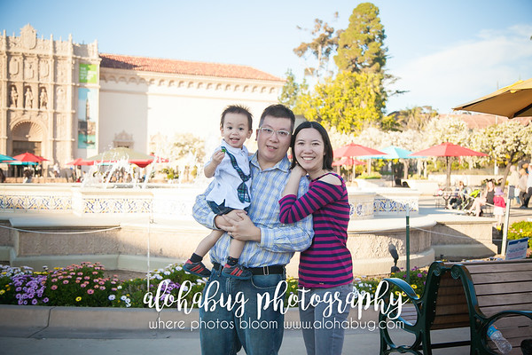 Balboa Park Family Photos
