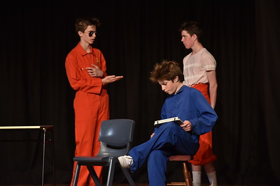 Wellington College: Much Ado About Nothing - Act IV sc ii
