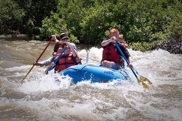 Utah June 2011 White Water Rafting