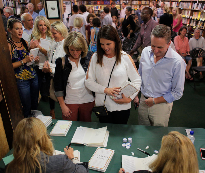 The Loyalist Team book signing