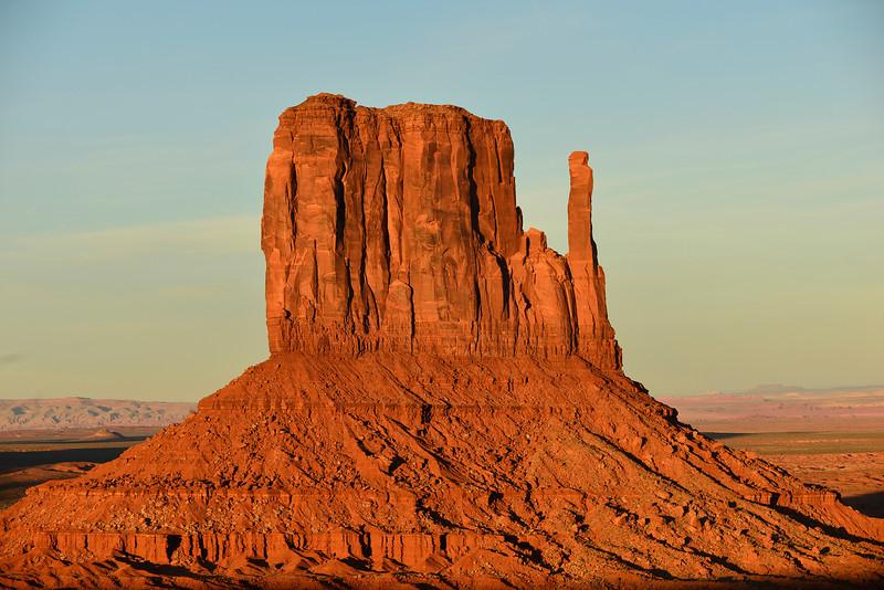 West Mitten (Left Mitten), Monument Valley