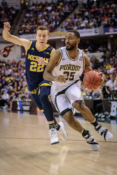 3/12/16 MBB: Purdue vs. Michigan (Big Ten Tournament Semifinals)