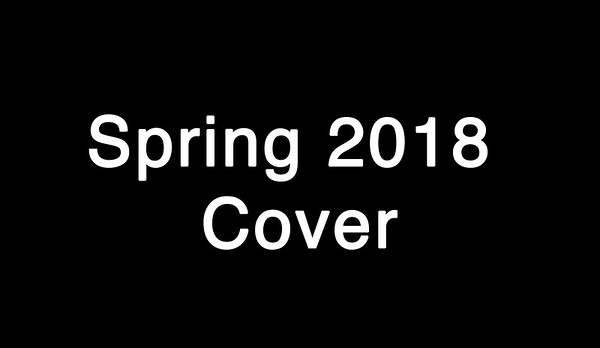 Spring 2018 Cover Contest