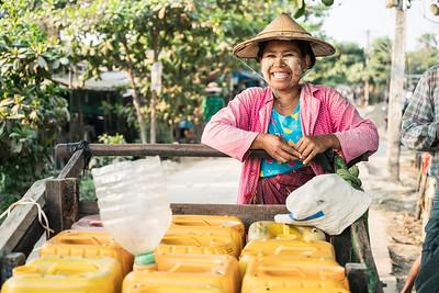 Hlaing Tharyar, Myanmar - April 2018