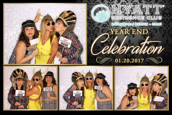 Hyatt Residence Maui Appreciation Party 2017