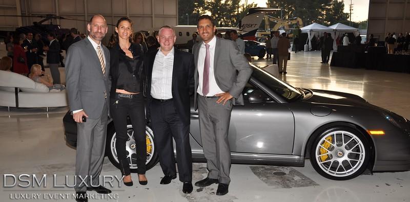 "DSM Luxury's ""Passport to Luxury"" was hosted at Elite Aviation, Van Nuys"