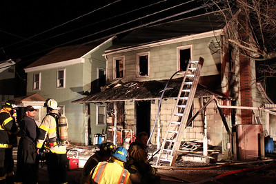 House Fire, 306 Hughes St, New Ringgold (3-27-2011)