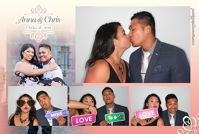 Anna & Chris' Wedding (Luxury Photo Pod)