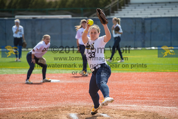 Softball v St Peters 4/9/17