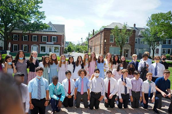 Rafael 8th Grade graduation