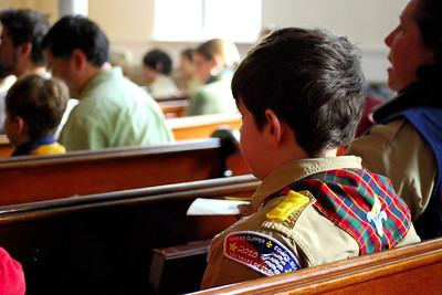 Scout-New Member-Potluck-Communion Sunday
