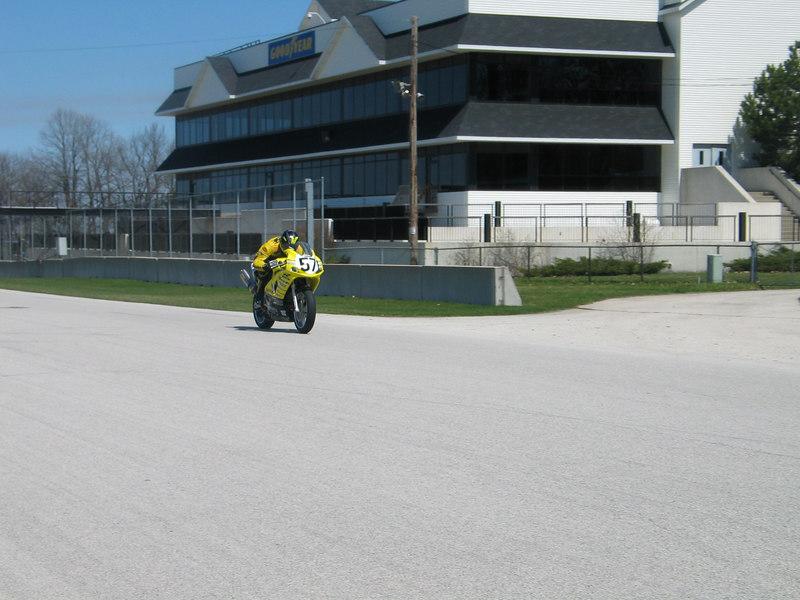 CCS Racing at Road America in April of 2003