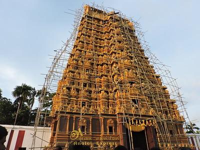 Nallur-Kandasuvami Kovil Kupera Vaasal Kopura Kumpavishekam day-17 (04 Sep 2015)