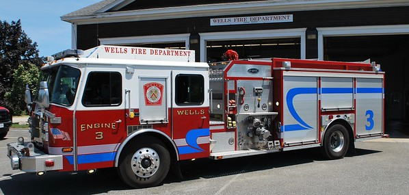 Wells Maine Fire Dept Station 1