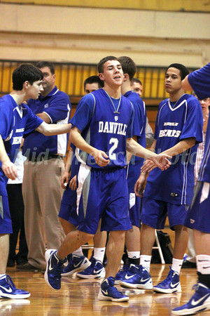 Boys Basketball, Danville vs Maharishi 1/31/2012