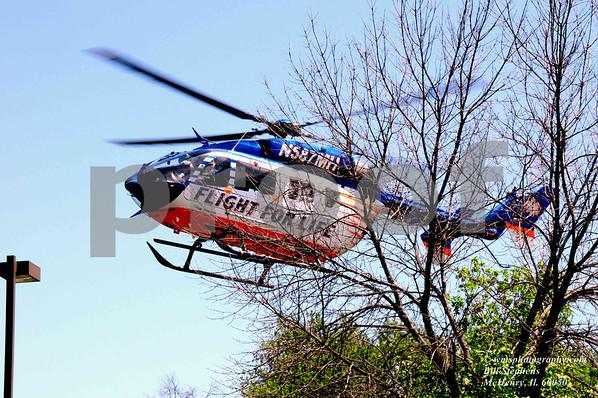 FLIGHT FOR LIFE MEDIVAC OPERATIONS MCHENRY STATION 2 JOHNSBURG