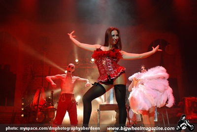 Circus of Horrors - at The Music Hall - Aberdeen, UK - February 5, 2009