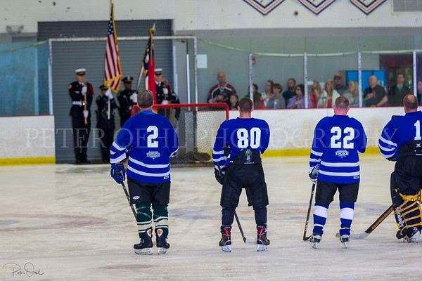 WPD vs. WFD charity hockey game 2018
