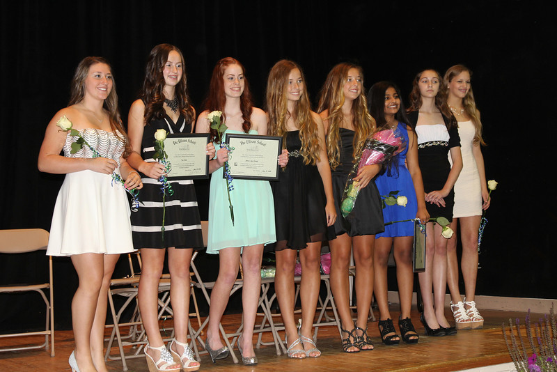 the girls of the 2014 class