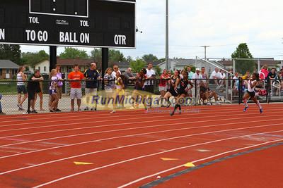 D1 Girls 200M Finals - 2013 MHSAA LP Track and Field
