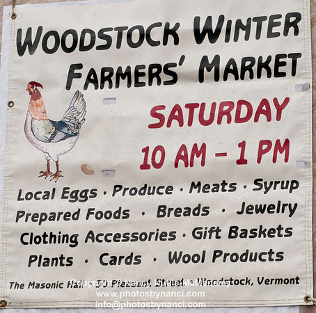 Woodstock Winter Farmers MKT