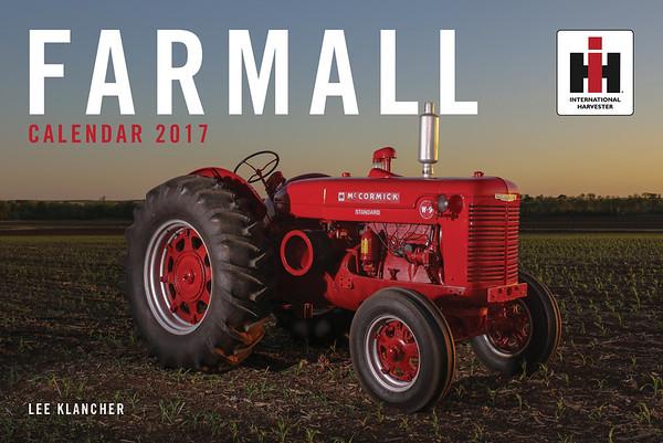 Farmall Tractors Calendar 2017