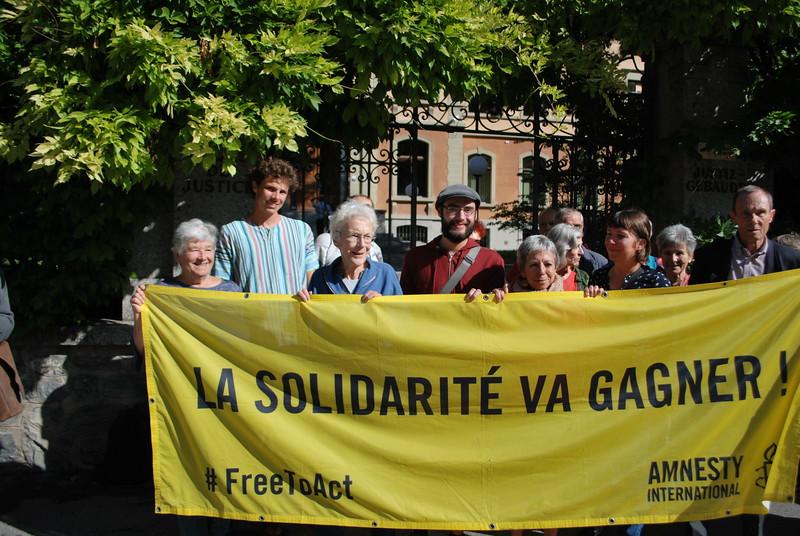 Anni Lanz, Sion 21/08/19, Copyright: Amnesty International