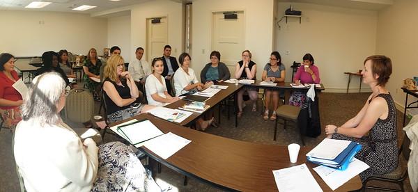 Church School Staff Meeting - September 28, 2014