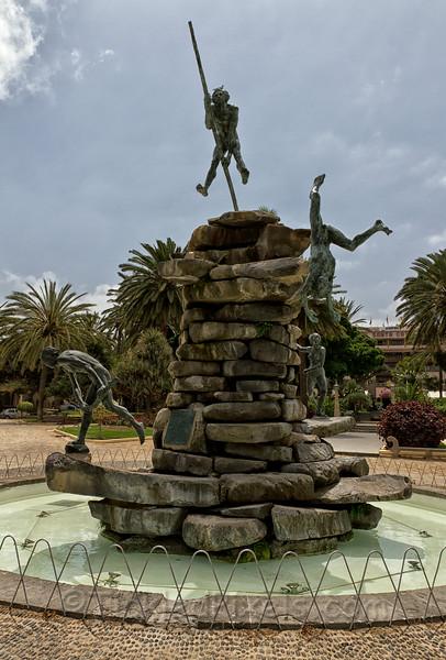 """""""Atis Tirma"""" in Parque Doramas, Las Palmas"""