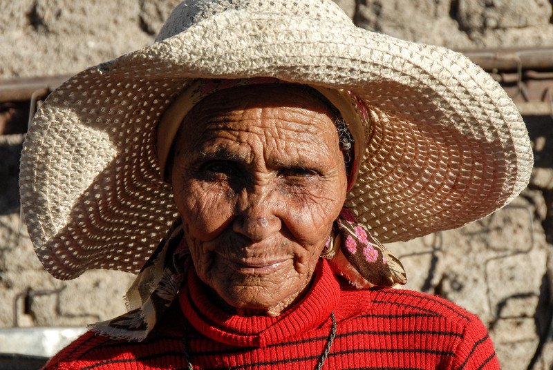 Elderly Lady, Namibia
