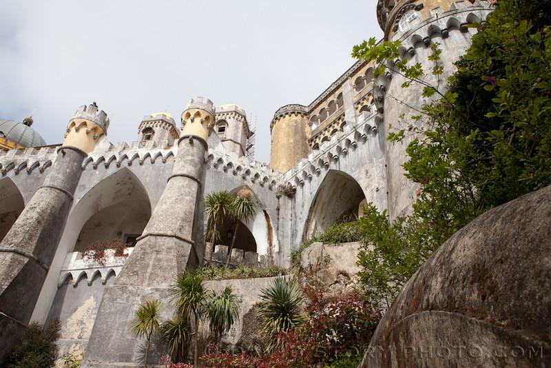 Pena Palace. Sintra, Portugal.