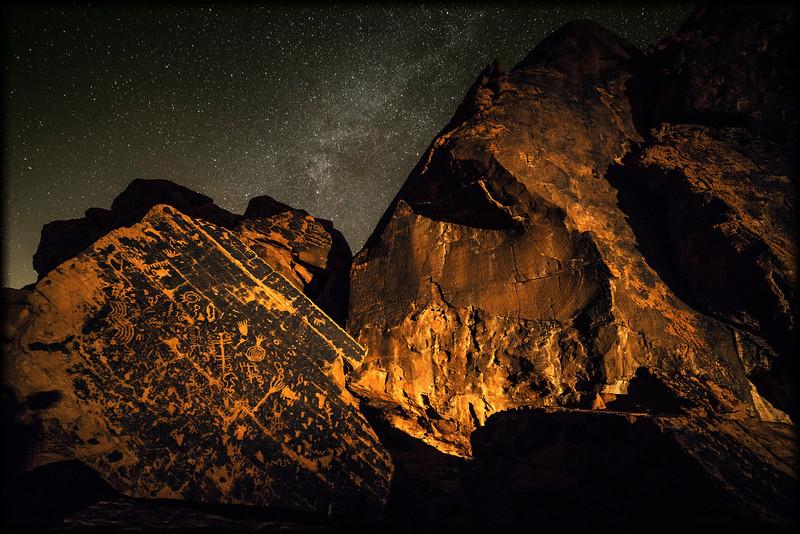 Valley of Fire petroglyphs night 2 boarder fade.jpg