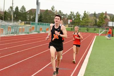 Northville Track Orange vs Black April April 10 2021
