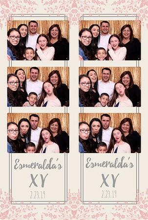 Esmeralda's Quince 2-23-19